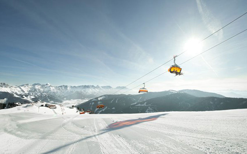 Skiing in Austria on Family Holidays in Leogang with The Little Voyager