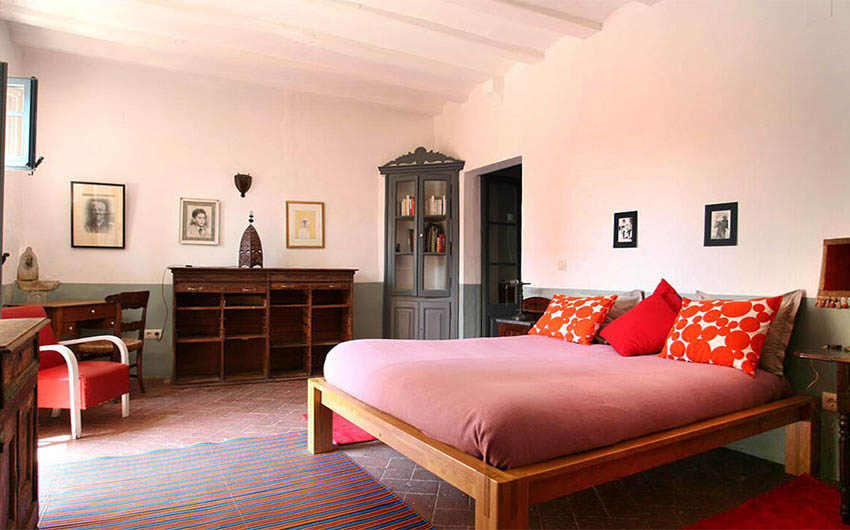 The Costa Brava Hideaway Double Bedroom with The Little Voyager