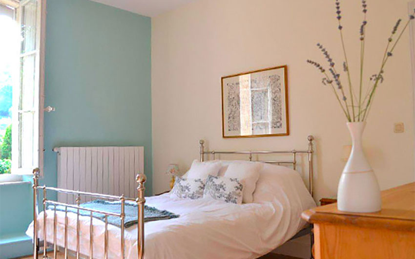 The 2nd Double Bedroom at the French Rural Retreat with The Little Voyager