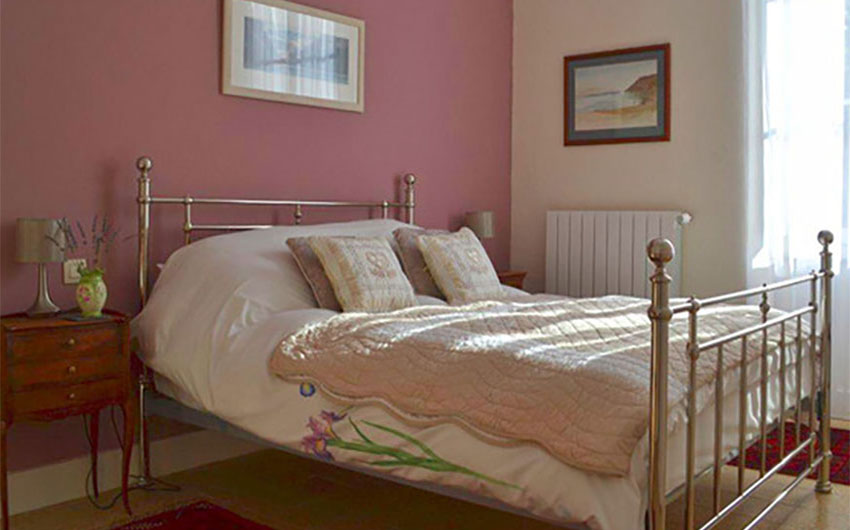 Double Bedroom at the French Rural Retreat with The Little Voyager