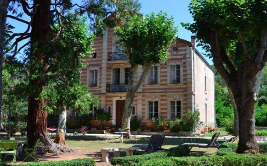 The Front of The French Rural Retreat with The Little Voyager