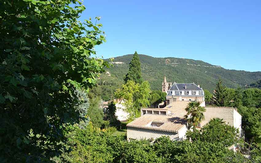 The View from The French Rural Retreat with The Little Voyager