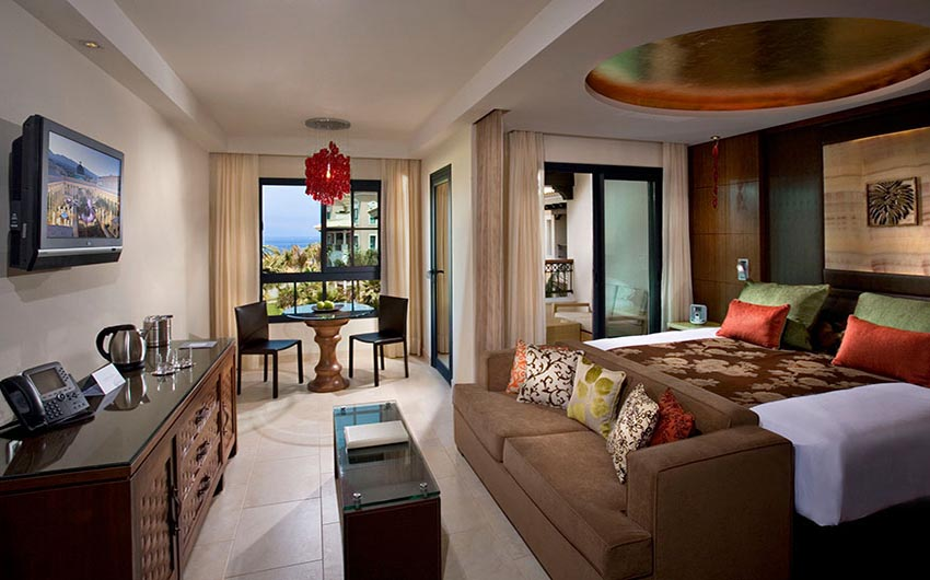 Gran Melia Palacio de Isora Deluxe Bedroom with The Little Voyager