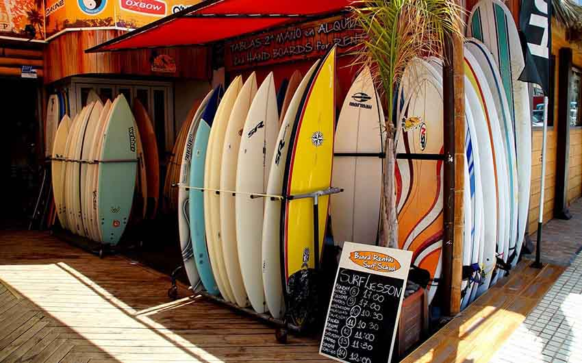 Surf Boards in Tenerife with The Little Voyager