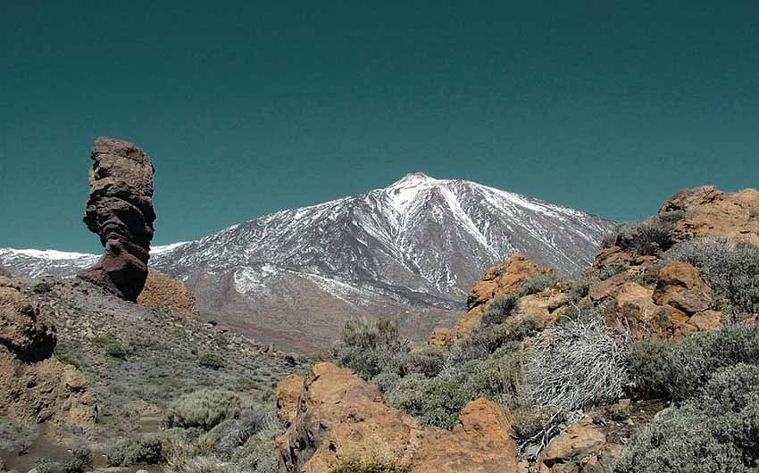 Tenerife Rocks with The Little Voyager
