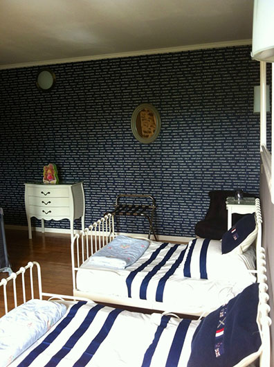 The French Country Chic La Popies Suite with The Little Voyager