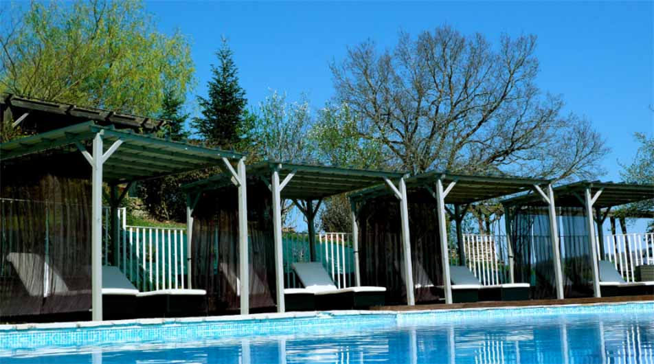 The French COuntry Chic Swimming Pool with The Little Voyager