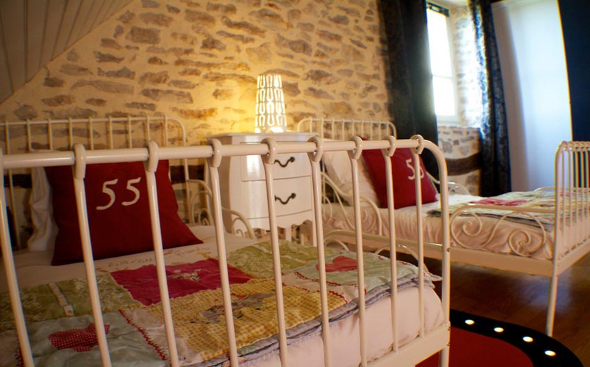 The French Country Chic Twin Bedroom with The Little Voyager