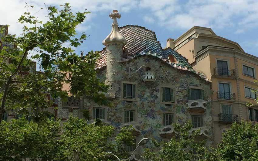 Barcelona's Gaudi Casa Batllo