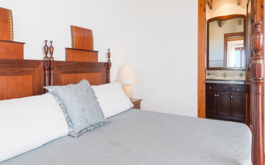 The Mallorcan Family Hotel Deluxe Double Bedroom with The Little Voyager