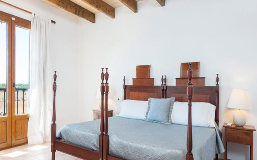 The Mallorcan Family Hotel Deluxe Double Bed with The Little Voyager