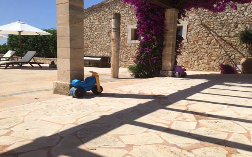 The Mallorcan Family Hotel outside Playing Area with The Little Voyager