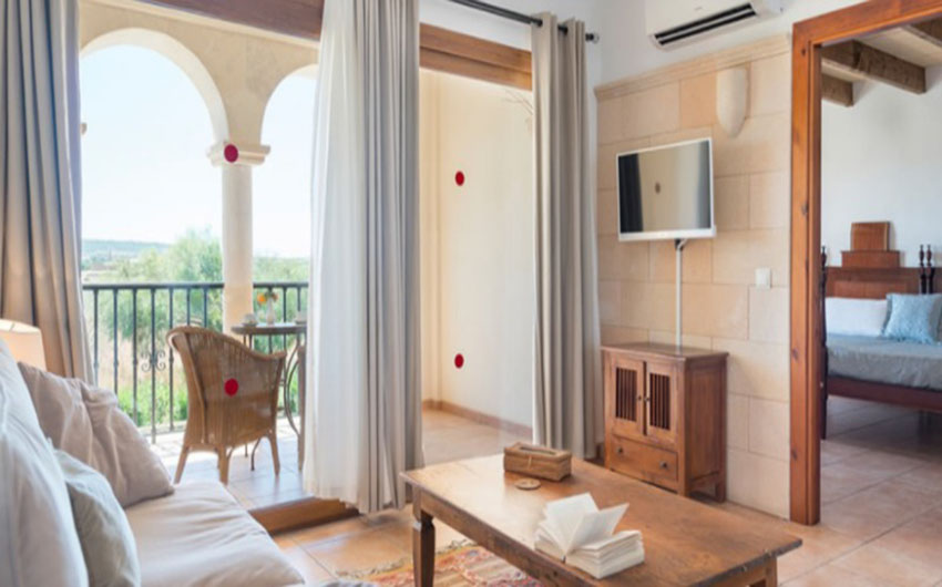 The Mallorcan Family Hotel Ground Floor Suite with The Little Voyager
