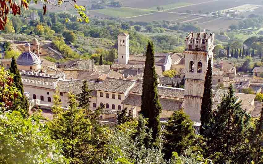 Assisi in Umbria with The Little Voyager