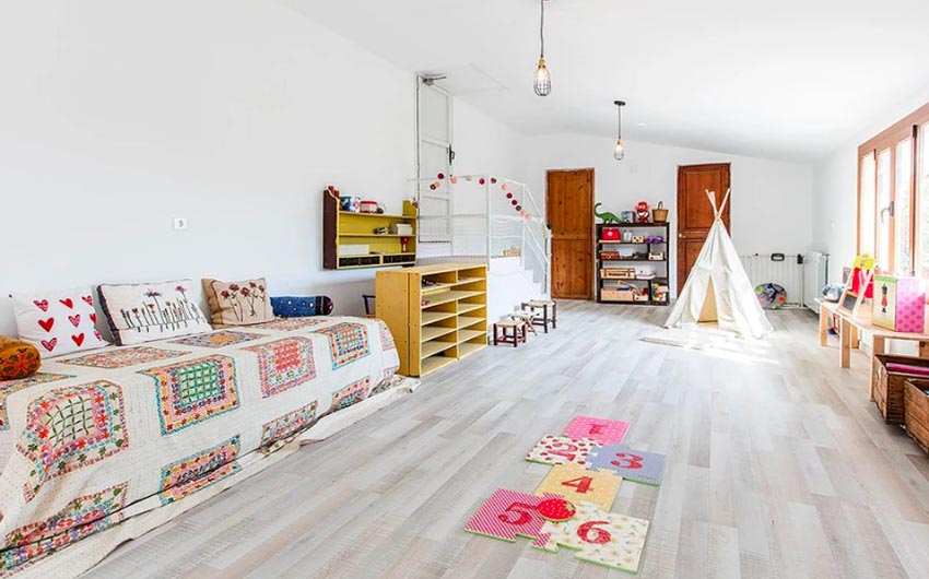 The Mallorcan Hideaway Family Playroom with The Little Voyager