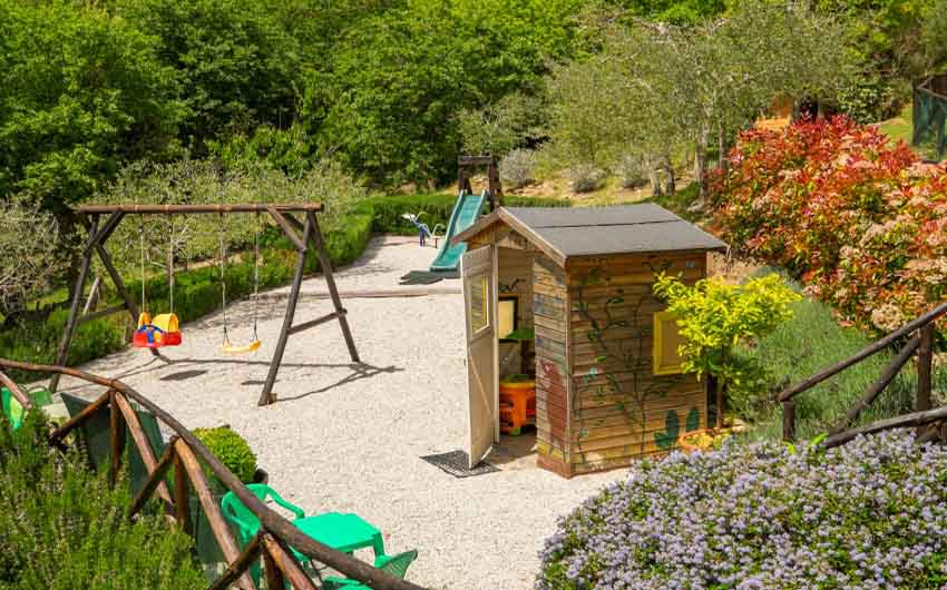 The Little Voyager's Umbrian Cottages Family Playground