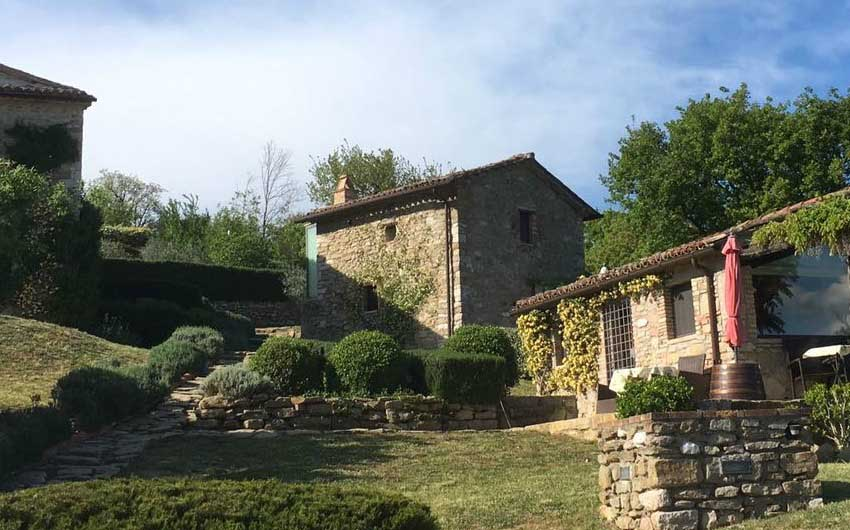 one of The Little Voyager's Umbrian Cottages