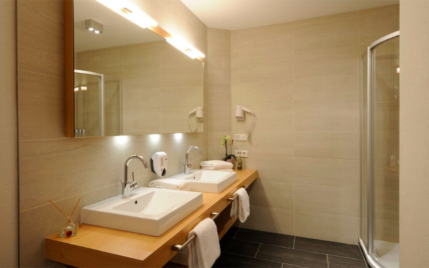 The Austrian Alpine Apartments Bathrooms with The Little Voyager