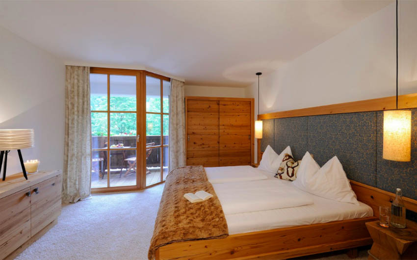 The Austrian Alpine Apartments Double Bedrooms with The Little Voyager