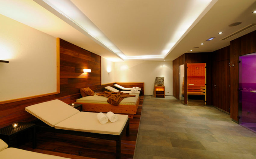 Austrian Alpine Apartments Spa Area with The Little Voyager