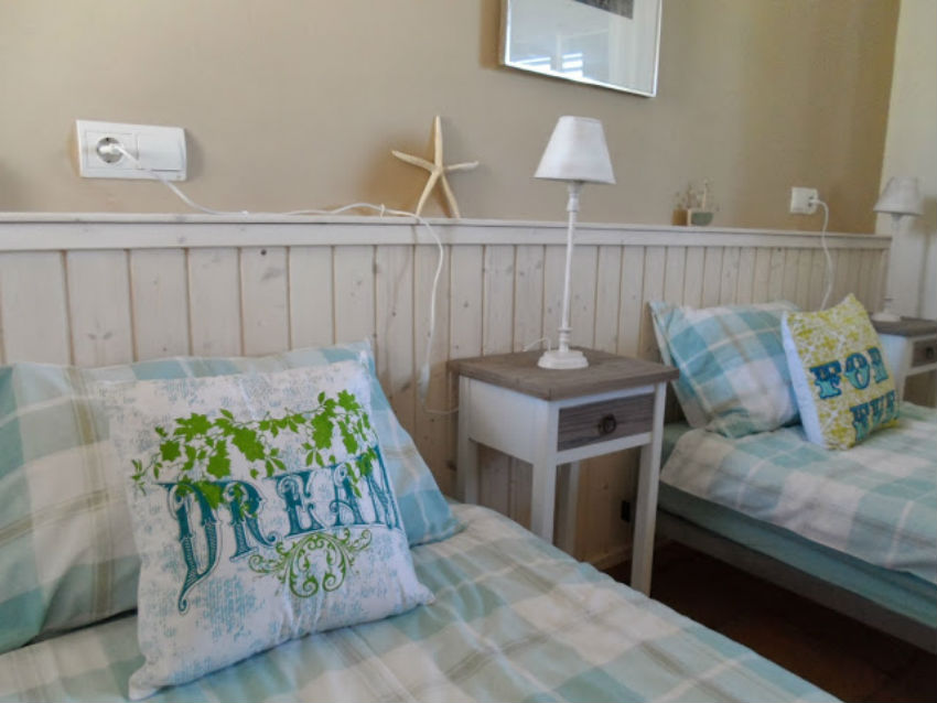 The Ibicencan Family Villa Bedrooms with The Little Voyager