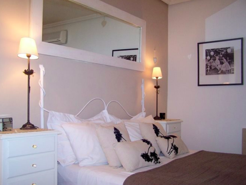 The Ibicencan Family Villa Bedroom with The Little Voyager
