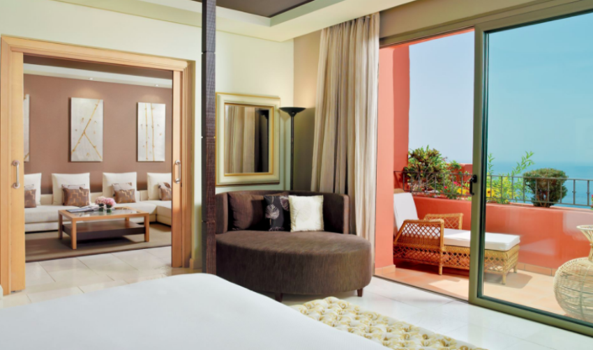 Ritz-Carlton Abama Single Bedroom with The Little Voyager