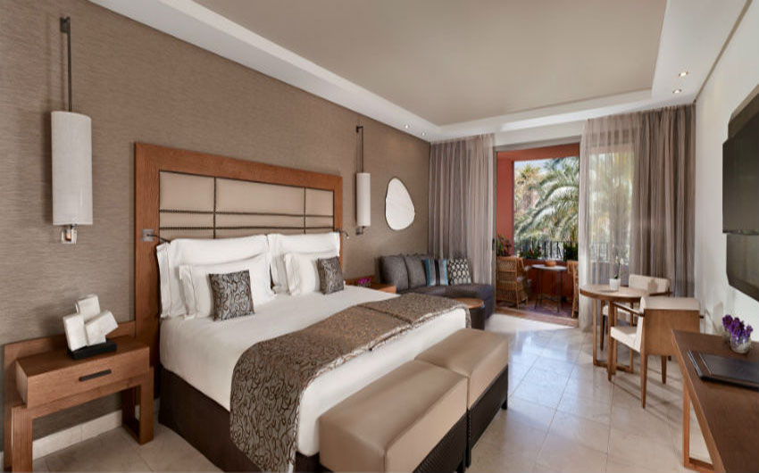 Ritz-Carlton Abama Deluxe Bedroom with The Little Voyager