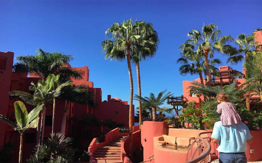 The Ritz Carlton Abama Outdoors with The Little Voyager