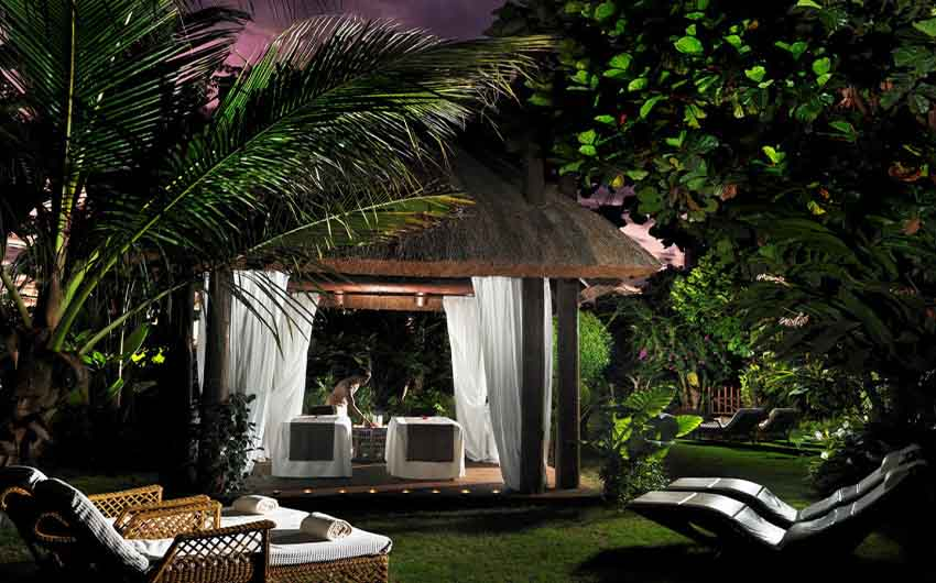 The Ritz Carlton Abama Spa with The Little Voyager