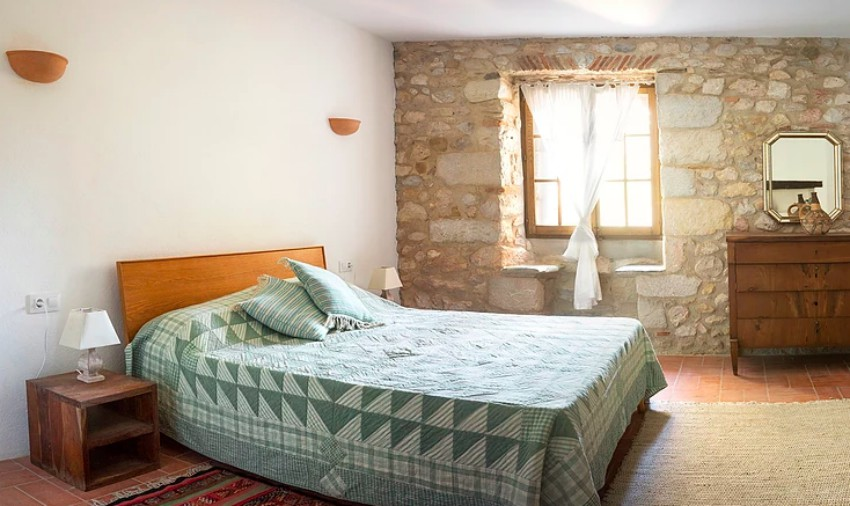The Catalan Farmhouse Double Bed and The Little Voyager