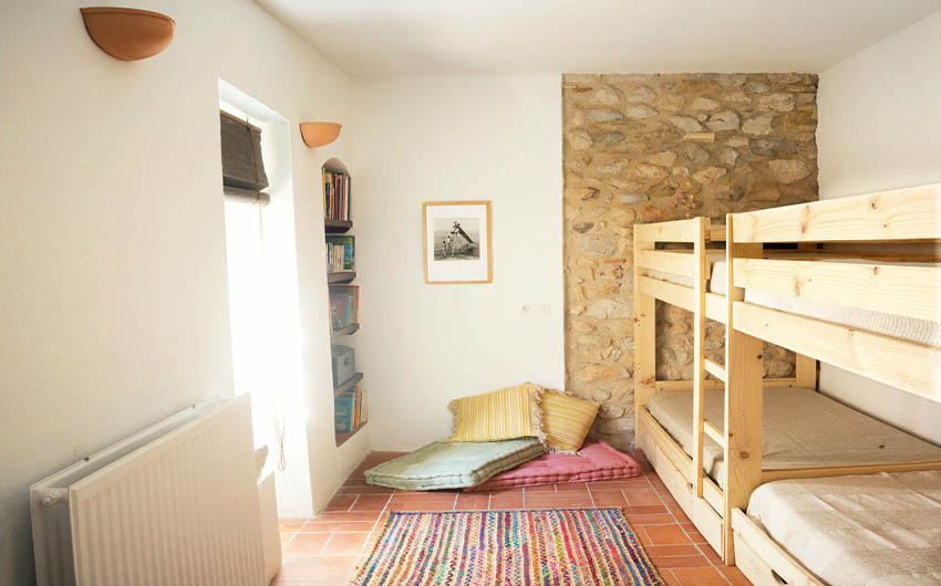 The Catalan Farmhouse Bunkbeds with The Little Voyager