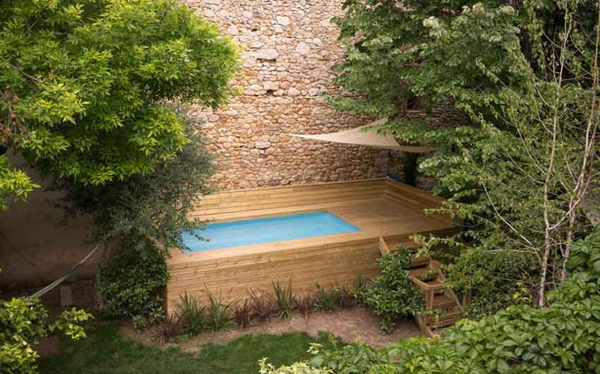 The Catalan Farmhouse Pool with The Little Voyager