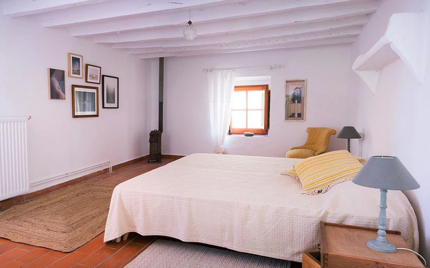 The Catalan Farmhouse Second Bedroom with The Little Voyager