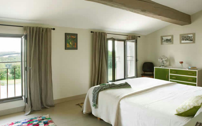 The French Country Boutique Houses Bedroom with The Little Voyager