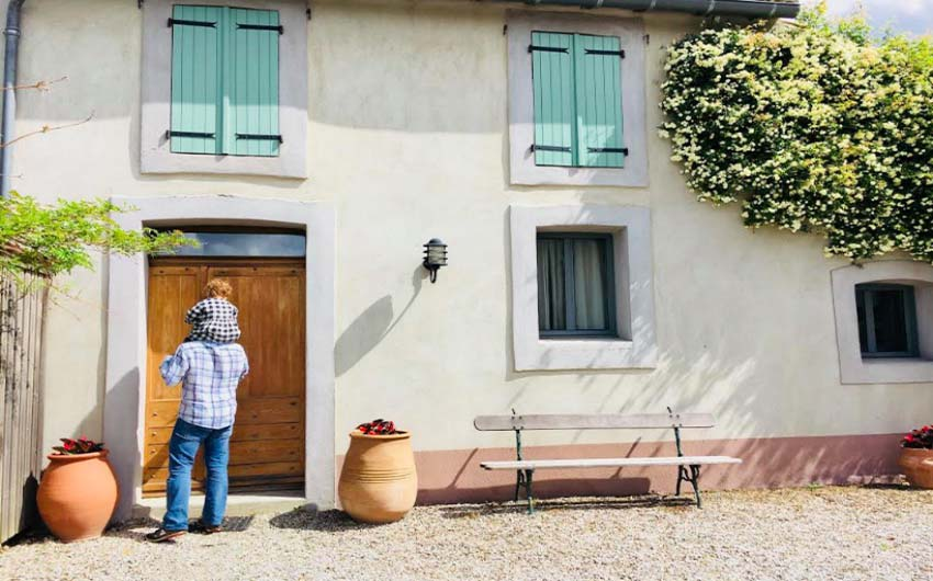French Country Chic Facade with The Little Voyager