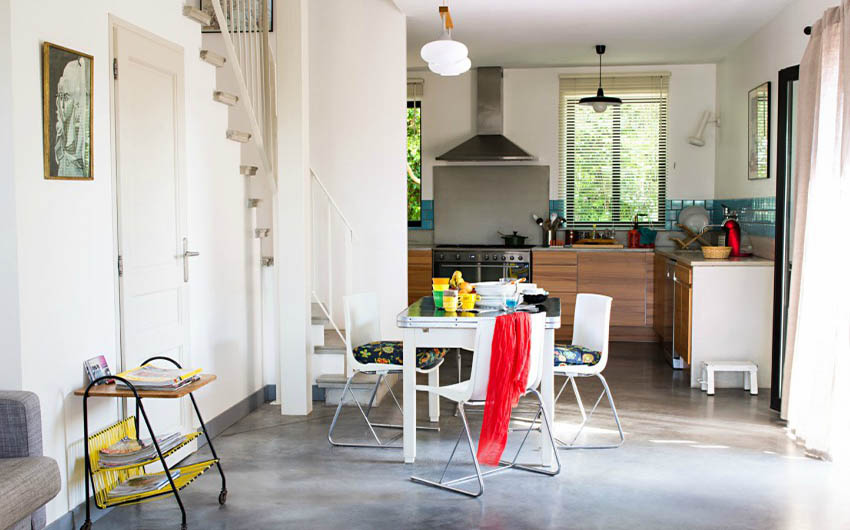 French Country Chic Living Space with The Little Voyager