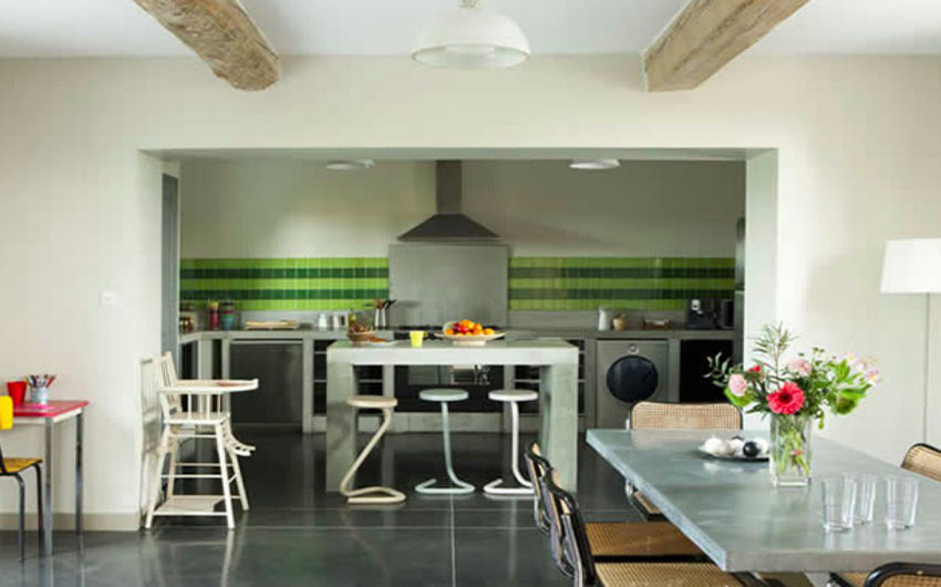 The French Country Boutique Houses Kitchen with The Little Voyager