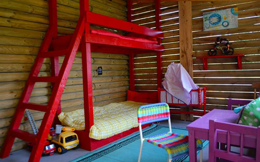 French Country Chic Playroom with The Little Voyager