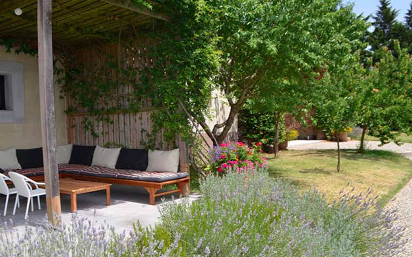The French Country Boutique Houses Terrace with The Little Voyager