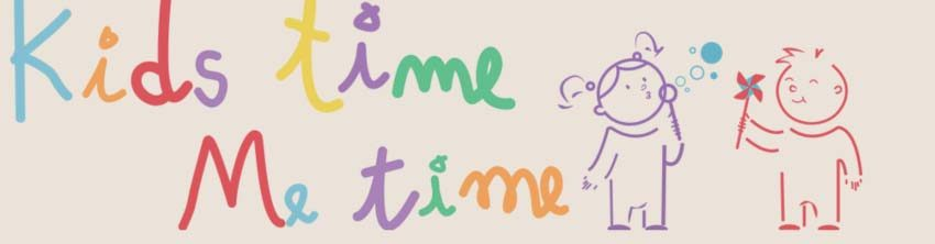 Kids Time Me Time Logo and The Little Voyager