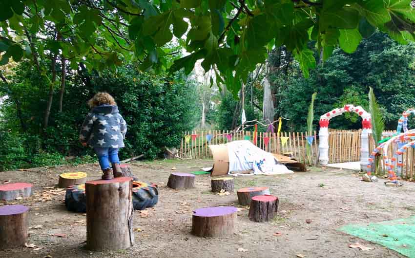 French Chateau Kids Club with The Little Voyager