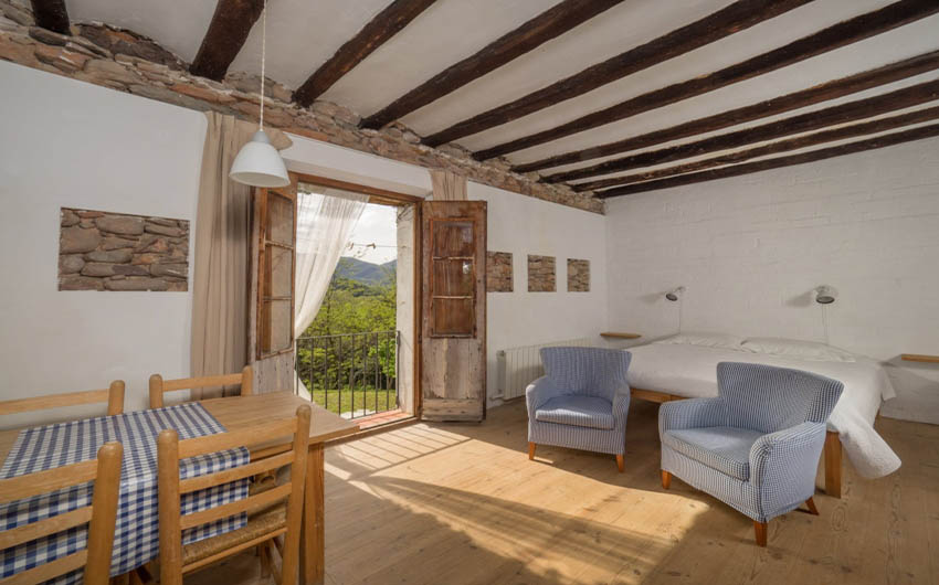 Catalan Rural Escape Family Room with The Little Voyager