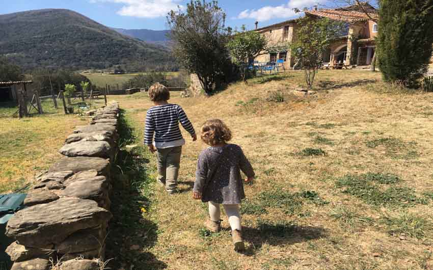 Catalan Rural Escape Garden with The Little Voyager