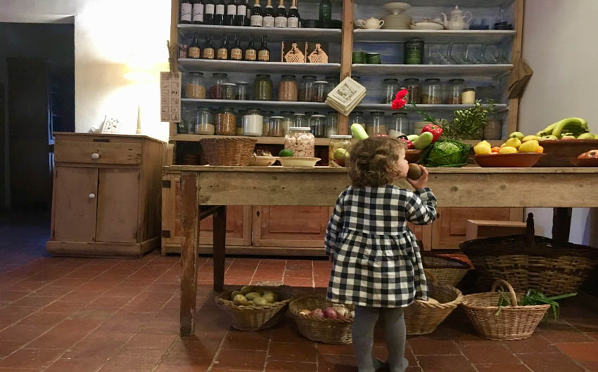 Catalan Rural Escape Store Room with The Little Voyager