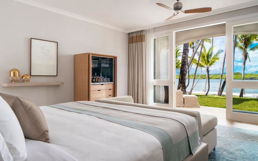Le Saint Geran Double Bedroom with The Little Voyager