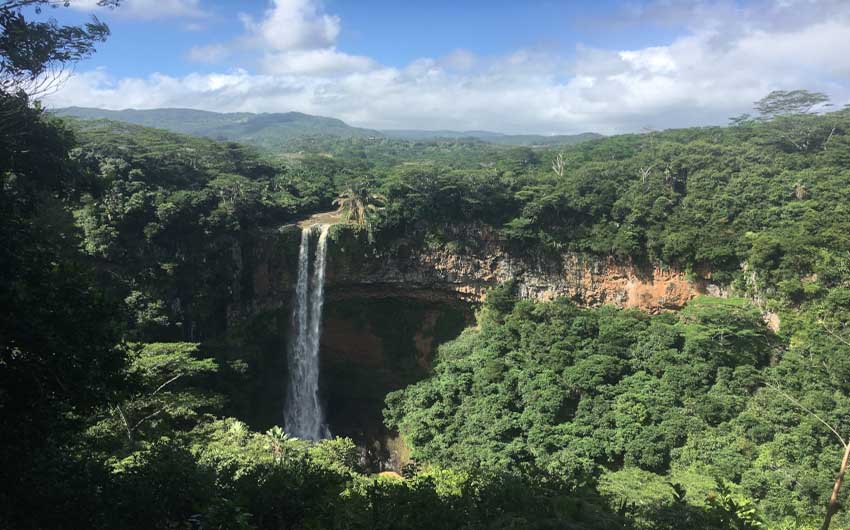 Mauritius Resorts Waterfalls with The Little Voyager