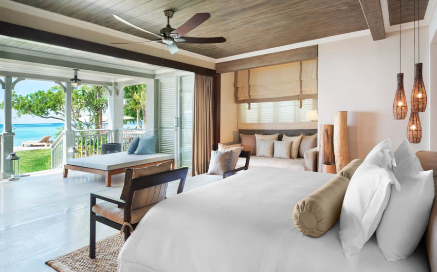 St Regis Resort in the Mauritius Medium Sized Bedroom with The Little Voyager