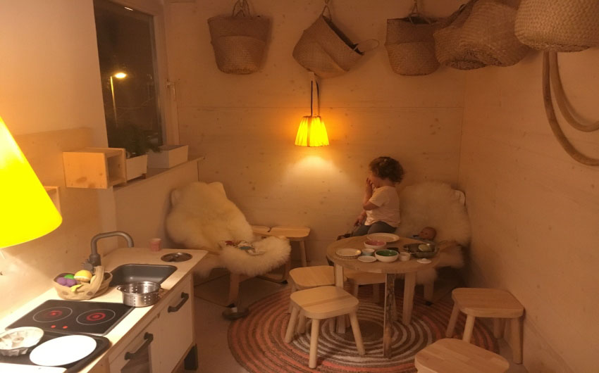 Haus Hirt Hotel Kids Playroom with The Little Voyager
