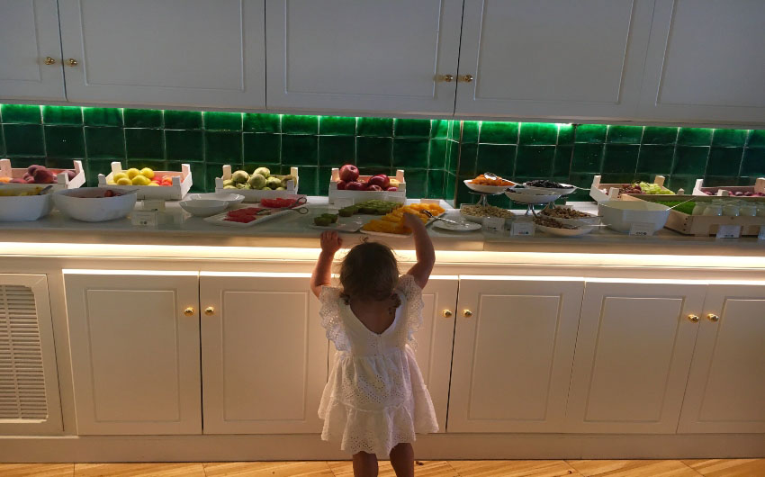 Hotel Camiral's Breakfast Buffet with The Little Voyager